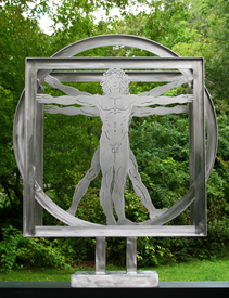 Vitruvian-Man-Sculpture